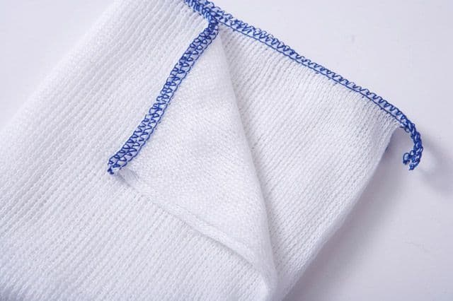"""Bleached Dish Cloth Pack 10 - 10"""""""